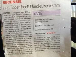 MC Inge Tibben recensie 5 6 2016
